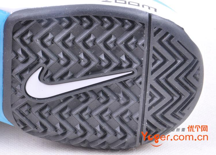 德勒V9网球鞋蓝土版图片