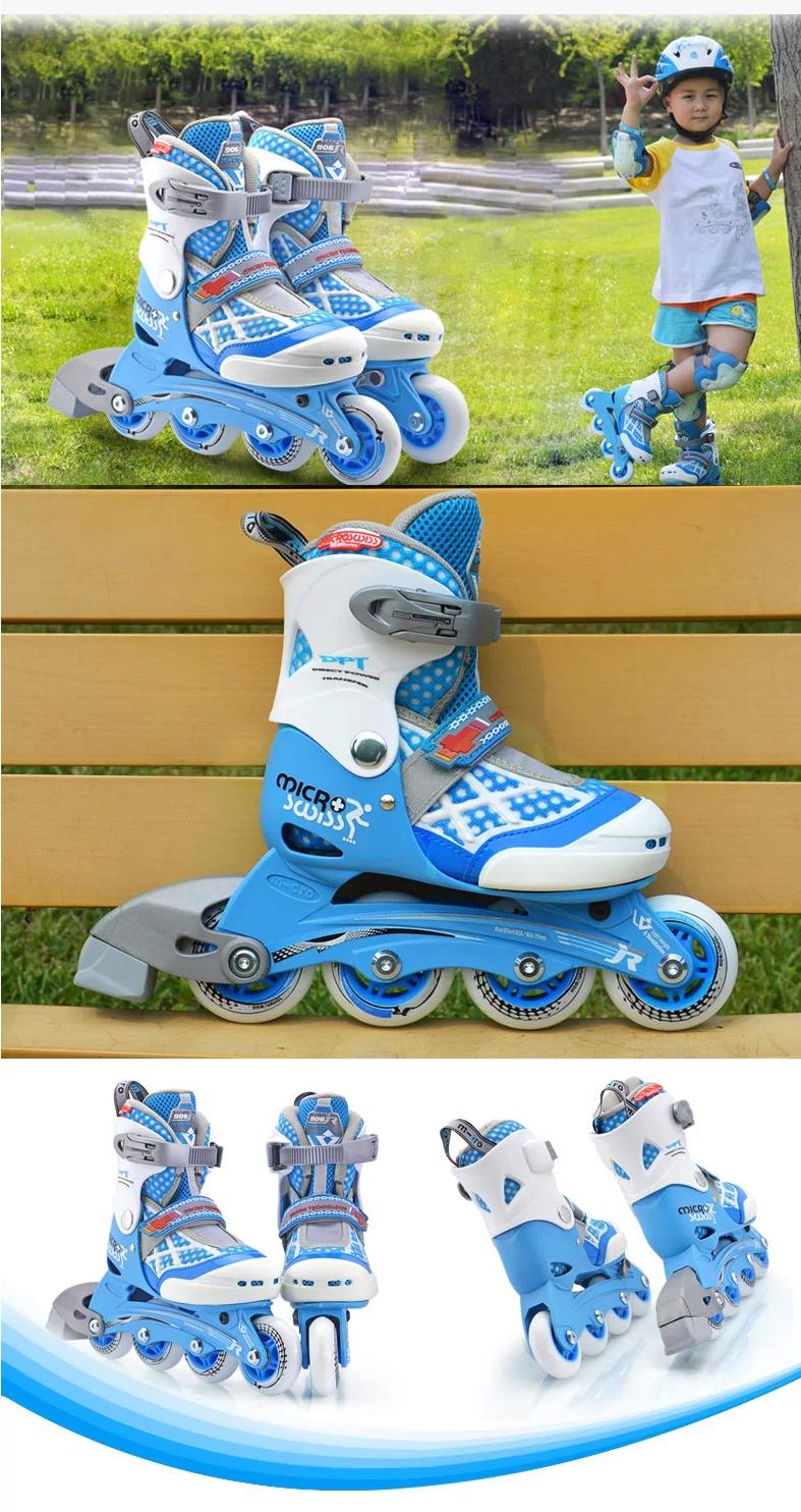 米高m-cro 品牌于瑞士苏黎世创立,为瑞士国家荣誉品牌、瑞士最可信赖的品牌之一。产品集合欧洲优秀创意,将先进的运动理念带进大众时尚生活,体现科技、健康、力量三者合一的精神! 米高轮滑鞋是由瑞士设计师罗伯特设计开发的,根据亚洲人脚型研究开发的适合中国人使用的中高档品牌轮滑鞋。 米高轮滑鞋设计主要突出舒适性、透气性、安全性、实用性等方面,领导轮滑发展潮流,不断创新,满足不同人群的需要。 2002年米高进入中国市场不仅丰富了群众的体育生活,从此也推进了国内轮滑运动的飞速发展。目前米高的销售网络已遍及全国各地