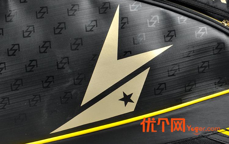 yonex尤尼克斯bag-02ldex林丹款6支装黑金色羽毛球包图片