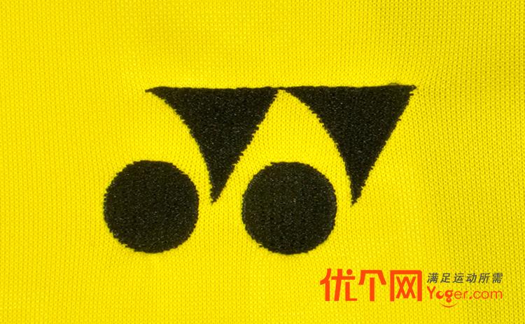 yonex尤尼克斯10001ldex男款黄色羽毛球短袖(林丹同款图片