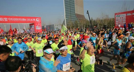 2017郑开马拉松比赛时间表