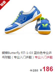 蝴蝶乒乓球拍品牌推荐1