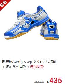 蝴蝶乒乓球拍品牌推荐2