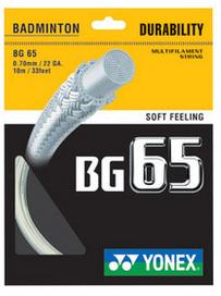 yonex BG65羽毛球线