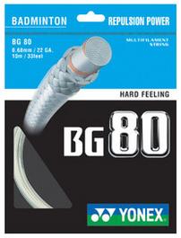 yonex BG80羽毛球线