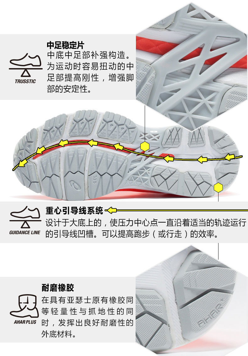 亚瑟士ASICS K24女款跑步鞋详情图5