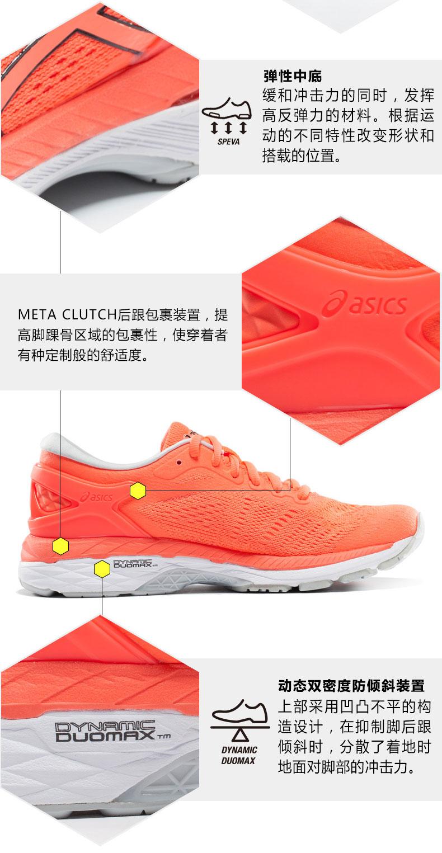 亚瑟士ASICS K24女款跑步鞋详情图6