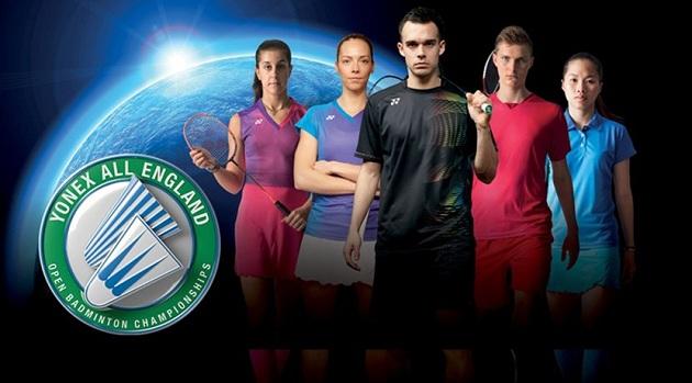 2017全英赛、全英羽毛球公开赛