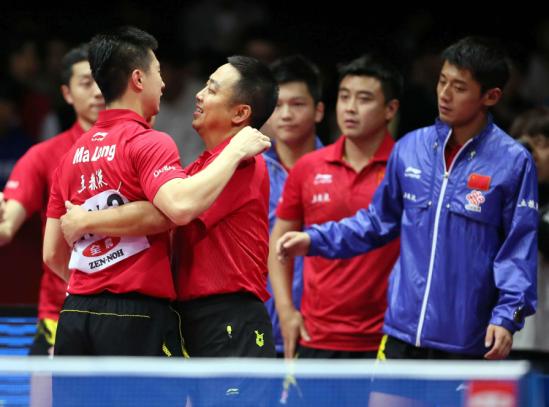 2017世乒赛中国队
