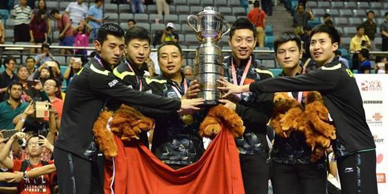 2017世乒赛中国名额