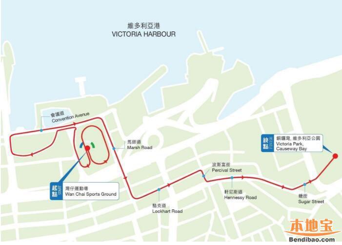 2018香港马拉松时间,起点,路线,官网时间赛程表【全】