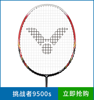 胜利中高端羽毛球拍9500s