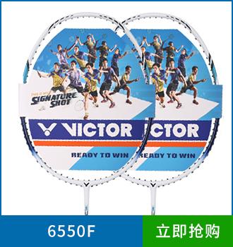 胜利中高端羽毛球拍6500f