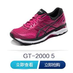 亚瑟士跑鞋gt2000-5