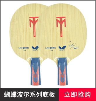 蝴蝶乒乓球拍品牌型号-波尔系列