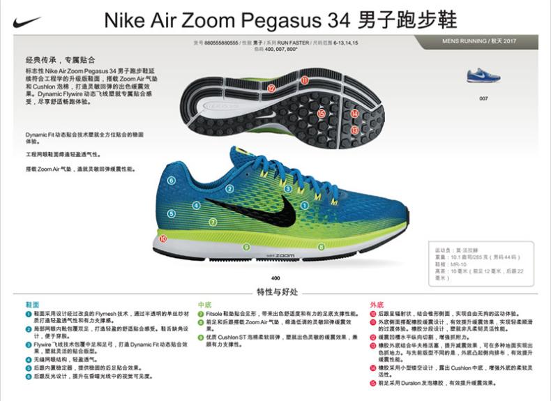耐克NIKE飞马跑步鞋详情图1