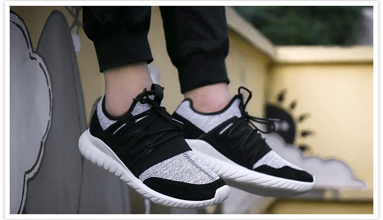 Adidas三叶草小椰子Tubular男女跑鞋详情图5