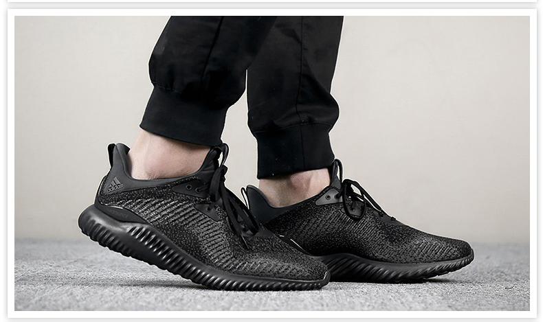 阿迪adidas alpha bounce跑鞋测评功能颜值两不误 优个网
