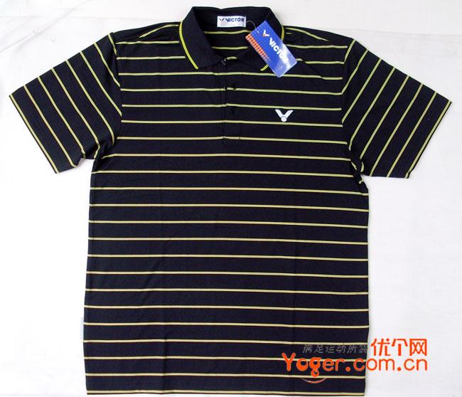 VICTOR胜利S-8028C T恤(超适合成熟男士的球衣)特价S-XL