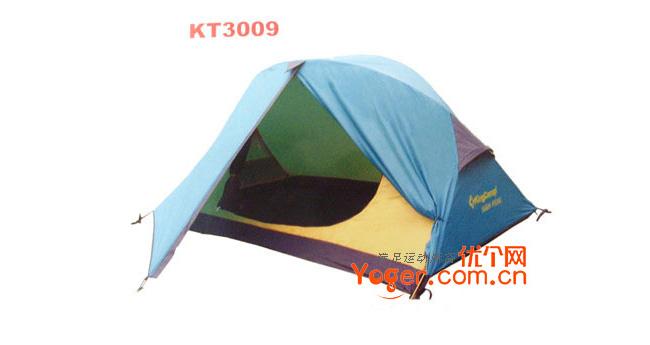 康尔健野Kingcamp 双人双层铝杆帐篷,KT3009