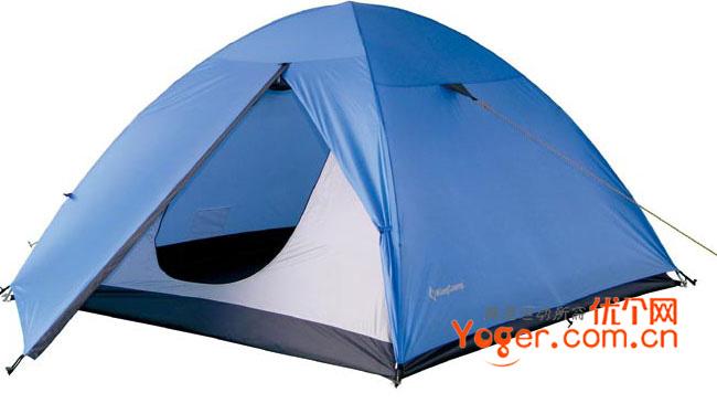 康尔健野Kingcamp HIKER 3人帐篷 KT3021