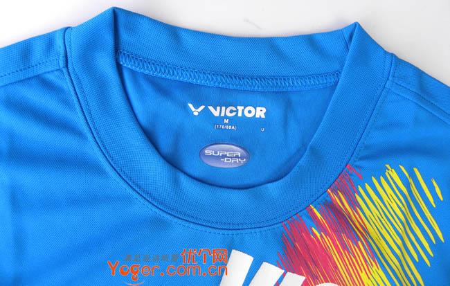 VICTOR胜利T-0023F圆领T恤(2010年韩国队指定休闲运动衫)