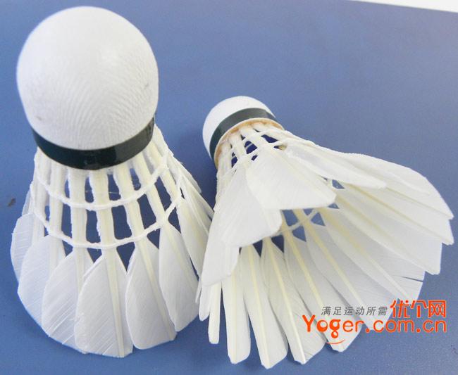 飞跃羽毛球Fly 700B鹅毛球,超级耐打,月售1000筒