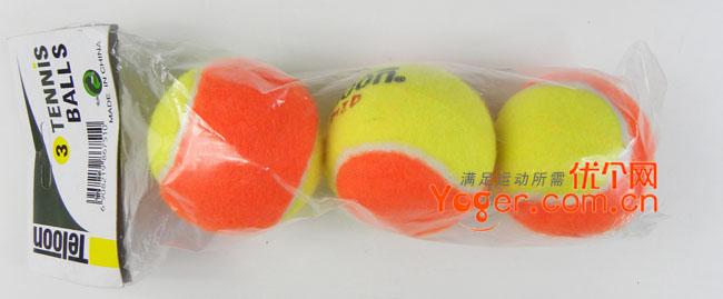 Teloon天龙 831儿童网球,迷你红球(三只装)