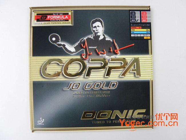 DONIC多尼克 金装JO.Gold Coppa (金装JO) 内能反胶套胶
