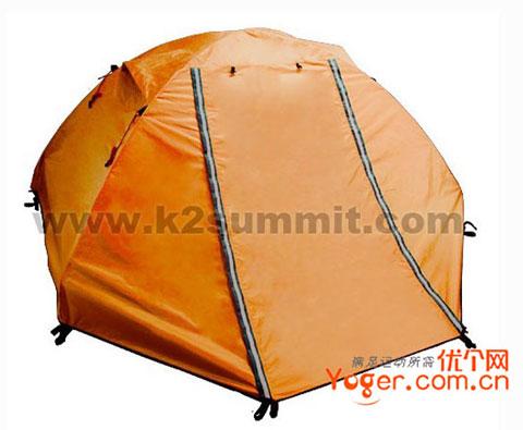 凯图巅峰k2summit ETAU双人三季帐篷Cc14 黄色
