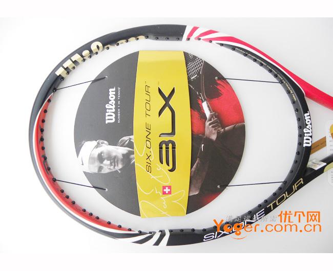 Wilson维尔胜 BLX SIX-ONE Tour 90网球拍(T7018,b90,blx90),费德勒用拍