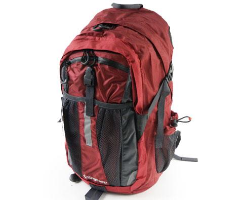 康尔健野Kincamp KB4240 暗红色双肩背包35L 有防雨罩