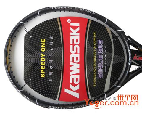 Kawasaki川崎 风神900网球拍(Aeolus900),整拍WOVEN编织