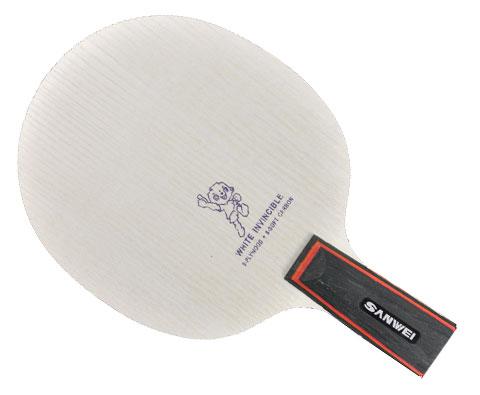 三维白无敌乒乓底板 九木八软碳