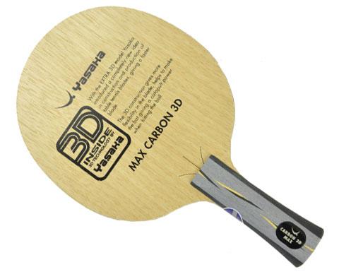 亚萨卡YASAKA马林加强碳3D YCA-MAX乒乓底板(Max Carbon 3D)