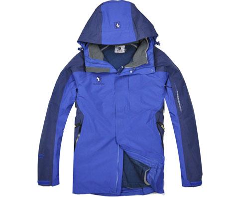 布来亚克BLACKYAK FUM485 蓝色男款GTX两件套冲锋衣,温文尔雅、内外兼修