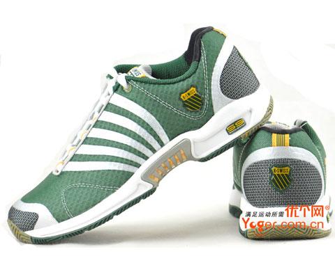 盖世威 K-SWISS ASCENDOR SLT (炫绿)网球鞋(01143348)