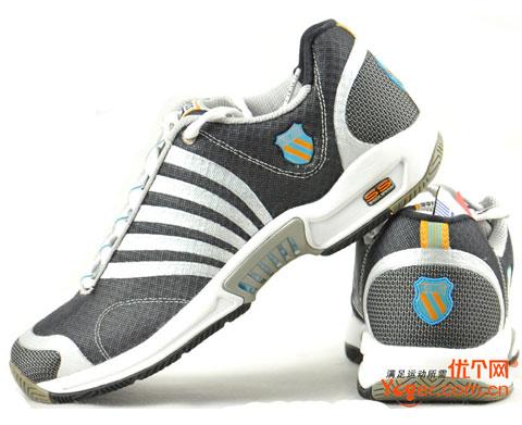 盖世威 K-SWISS ASCENDOR SLT (亮白灰)(01143064)网球鞋