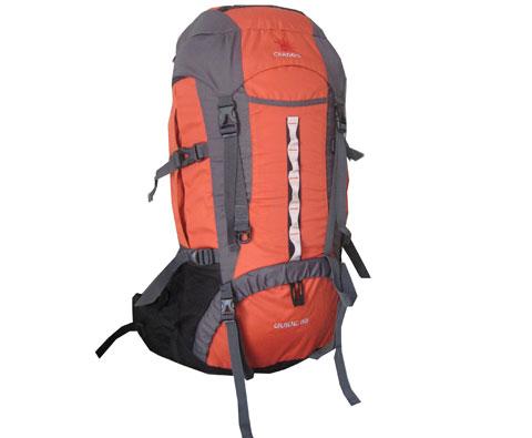 格拉丹冬CRDDO 101002火红色GUIDE55L户外背包 性价比很高的大型徒步包