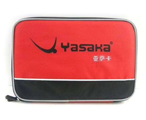 亚萨卡双层方形拍套拍 带球拍保护盒