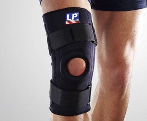 LP欧比 功能型弹簧膝关节护具 弹簧护膝 LP709 高稳定性设计