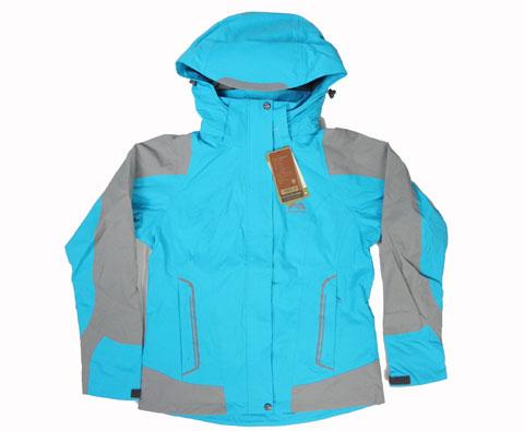 哥仑步Kolumb 200942 女款两层压胶冲锋衣