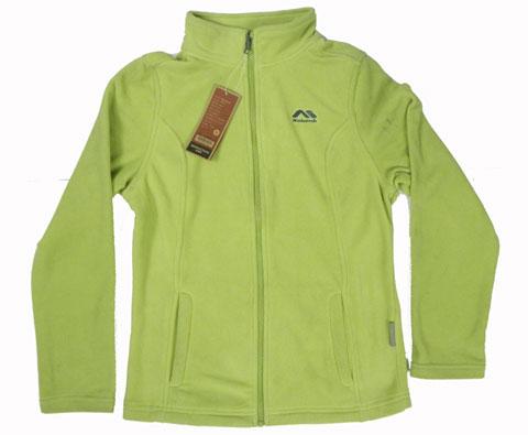 哥伦布Kolumb 200881 女款抓绒摇粒开衫 草绿色