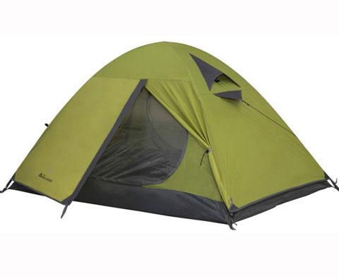 牧高笛冷山3AIR 绿色 三人双层三季铝杆帐篷