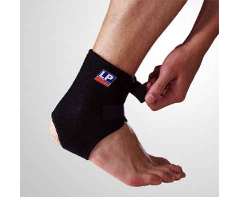 LP欧比 前开可调式护踝 LP757