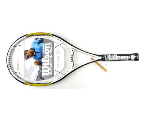 Wilson维尔胜T5813 N.Fury Hybrid 101网球拍(网拍中的金色闪光)