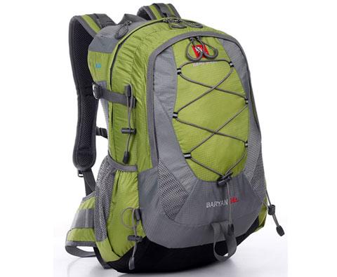 硬骨HARDBONE HB09101巴音28L 绿色登山背包