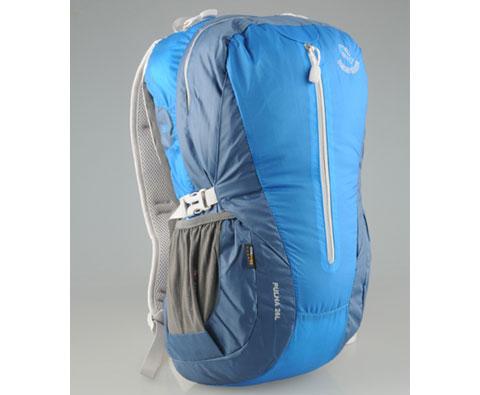 硬骨HARDBONE HB10007 普勒 26L 杜邦超轻登山背包 蓝色