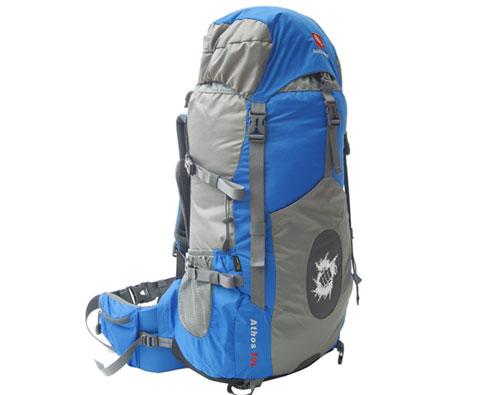 硬骨HARDBONE HB11003 阿拓斯 50L登山背包 蓝色 好的产品会说话