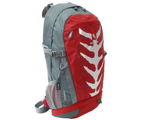 硬骨HARDBONE HB11008 喀麦隆30L红色登山背包,别致激情款!